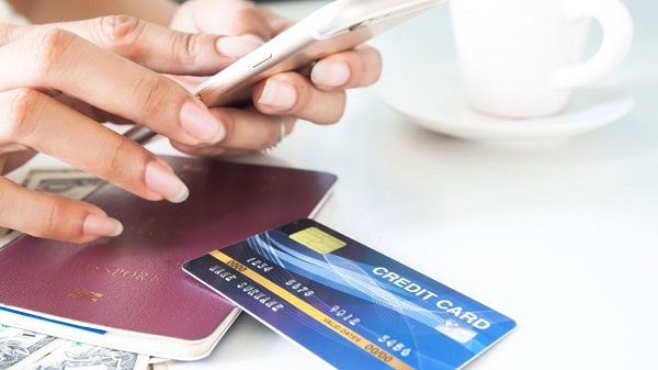 notify your bank if you go abroad